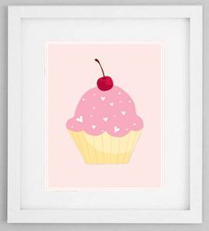 Pink Cupcake Printable