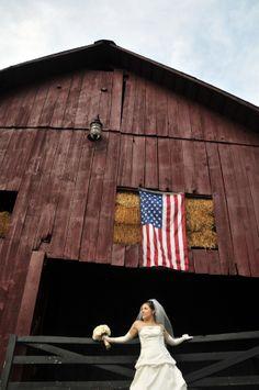 I love the idea of having an American flag!