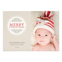 Merry Christmas Modern Holiday Photo Card Custom Invites http://www.zazzle.com/merry_christmas_modern_holiday_photo_card_invitation-161423249148424741?printquality=4color&rf=238675983783752015