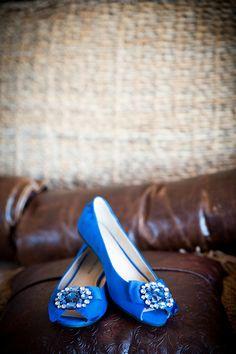 Preppy blue flats! {Fidelis Studio}