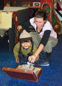 Puppet Workshop for children 8+ and adults. Sat 23rd March 3pm. www.newhamptonarts.co.uk