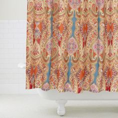Paisley Venice Shower Curtain - v2 $24.99