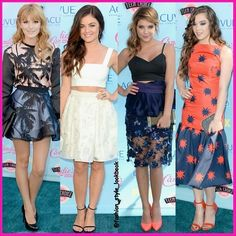 FASHION FROM TEEN CHOICE AWARDS 2013#bellathorne#lucyhale#ashleybenson#haileesteinfeld  #disney #music #pink #floral #style #fashion #instastyle #instafashion #croptop #beautiful #ootd #skinny #teenager #inspiration #fashionista #fashionicon  #styleicon #perfection #celebrity #streetstyle #hipster #streetfashion #classy #love #weheartit... - Celebrity Fashion