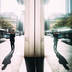 It's been good to shoot some street photography this week. In the midst of planning one of the biggest Instameets to date with @London for #WWIM13London I've had chance to wander the streets and catch some moments. This one was from a particularly beautiful morning in Canary Wharf. @DaveBurt put out a killer Periscope earlier announcing details of the event on Saturday. Who's coming?!  #ThisIsLondon #LondonMusic #WWIM13 by mattspracklen