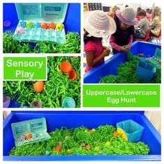 Easter sensory table | Creative Tots Blog