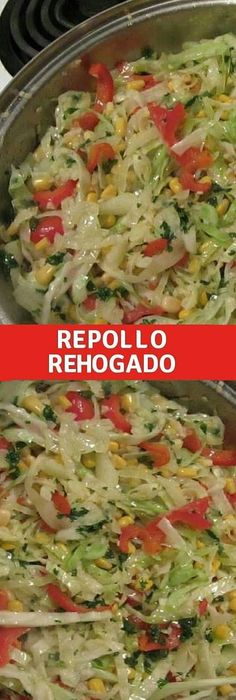 Repolho refogado especial - Comida y bebida - Vegetable Base Recipe, Vegetable Dishes, Vegetable Recipes, Mexican Food Recipes, Vegetarian Recipes, Cooking Recipes, Healthy Recipes, Good Food, Yummy Food