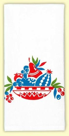 Plato Trutero Retro Tea Towel