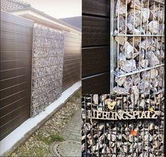 Die 48 Besten Bilder Von Gartenzaun Gabionen Wpc Holzelemente In