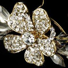 Gold Plated Bridal Hair Pin 93