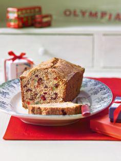 Englischer Früchtekuchen -  Ein schneller Rührkuchen mit Früchte-Mix.