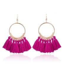 Refreshing arriving Bohemian Handmade Cotton Tassel Earrings for Women Long Big Ethnic Fringed Drop Earrings Hanging Dangling Women's Jewelry 2017 now for sale US $2.86 with free delivery  you will discover this product and also much more at our on-line store      Have it now at this website >> http://bohogipsy.store/products/bohemian-handmade-cotton-tassel-earrings-for-women-long-big-ethnic-fringed-drop-earrings-hanging-dangling-womens-jewelry-2017/,  #BohoStyle
