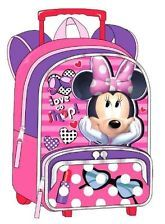 Minnie Mouse Toddler Backpack | ... Minnie Mouse Rolling Toddler Backpack - 12 Inch Wheeled Backpack