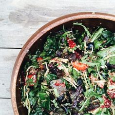 RECIPE / Summer Berry Superfood Salad