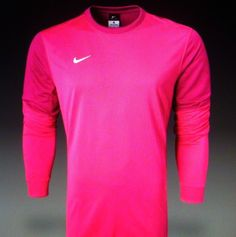 a8f0a13567c Details about NWT Nike Club II Soccer Goalkeeper Fireberry Jersey M Med  Medium