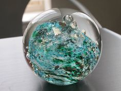 Tidal Wave Glass Paperweight by nautical2004 on Etsy, $25.00