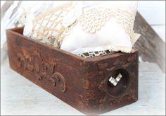 sewing machine drawer 14 Sewing Machine Drawers, Sell Items, Vintage Love, Shabby, Pillows, Crochet, Brown, Inspiration, Ideas