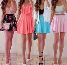 Any of these outfits I would go for