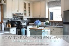 How to Paint Kitchen Cabinets (A Step-by-Step Guide) | Confessions of a Serial Do-it-Yourselfer