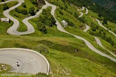 Give me a bicycle, motorcycle, supercar and I could spend weeks on this section of road without being bored!
