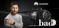 """Лионель Месси рекламирует смарт часы Porsche Design Huawei Watch 2. В рекламной кампании, посвященной презентации новых смарт часов Porsche Design Huawei Watch 2, принимает участие лучший бомбардир """"Барселоны"""" - Лионель Месси."""