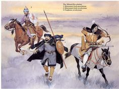 Historical Warrior Illustration Series Part XVIII | The Lost Treasure Chest