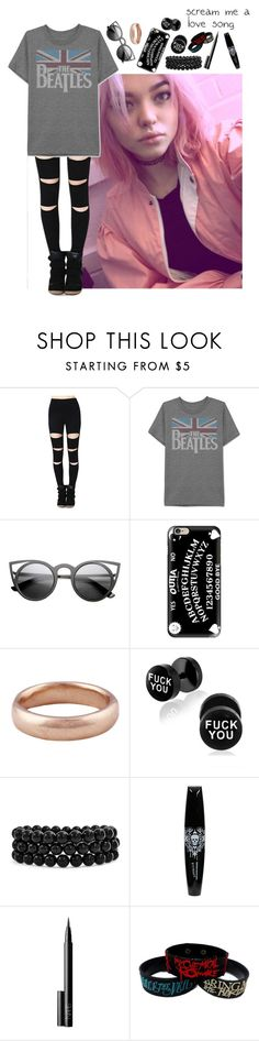 """- walks around, bored -"" by the-infinite-anons ❤ liked on Polyvore featuring JEM, Casetify, Lauren Wolf, Bling Jewelry and NARS Cosmetics"