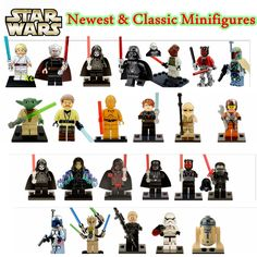 2016 Newest & Classic Star Wars Minifigures Jedi Knight Clone Soldier The Bounty Hunter Force Awakens Models Building Toys Legoe-in Blocks from Toys & Hobbies on Aliexpress.com | Alibaba Group