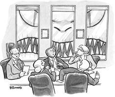 The New Yorker Cartoon Contest #384 winner.