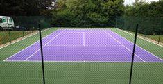 Tennis Line Painting
