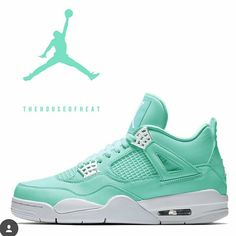 Seafoam 4s. What would you name them?