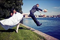 Coleção de fotos divertidas e criativas de casamento | Catraca Livre