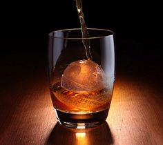 Death Star Ice Sphere Mold – Really this is worth ruining some whiskey with ice for... Drinking Death Star Juices!