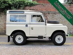 Land Rover Series III Station Wagon With Safari Roof