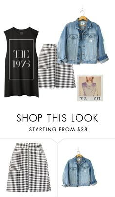 """""""T.S."""" by sarah-tav ❤ liked on Polyvore featuring Calvin Klein"""
