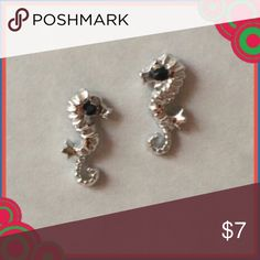 NEW Small Silver Seahorse Earrings NEW Small Silver Seahorse Earrings are hypoallergenic and great for all ages!   Your orders are a blessing and I'm grateful for your business! Thanks for stopping by! Feel free to leave me a comment so that I can check out closet too:) kate spade Jewelry Earrings