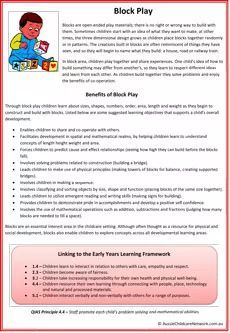 Interest Area Poster with info on how specific interest area benefits children while they play. It also links the EYLF Learning Outcomes and QIAS principles. Play Based Learning, Learning Through Play, Preschool Learning, Early Learning, Preschool Transitions, Preschool Centers, Learning Tools, Learning Centers, Learning Activities