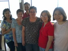 Our balikbayan, Noemi with former HSBC friends Loulette, Ernie, Jinnie, Susan and Leila at Mira Mar