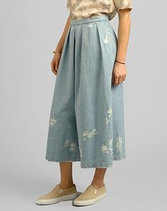 Via:LuckyMagazine 20 Good Reasons To Get Excited About Gaucho Pants