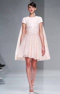 Georges Hobeika Couture Spring 2015 Fashion Show