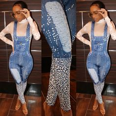 """951fbf479d2 Sugar Popped™ on Instagram  """"All sizes  Restocked 😍😍😍 It has Rhinestones  that Glisten throughout the Jumpsuit 🔥🔥Super Stretchy..traffic stopper ..."""