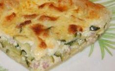 Tarte sans pâte aux courgettes et à la feta WW, recette d'une savoureuse tarte légère, facile et simple à réaliser pour un repas du soir accompagnée d'une bonne salade.