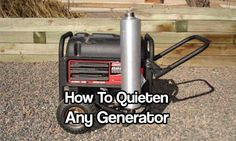 How To Quieten ANY Generator. See how you can make a noisy old generator and make it whisper quiet in just a few easy steps. This is an amazing tutorial