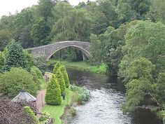 The Brig o' Doon in Alloway, Scotland - setting of DOON the novel.