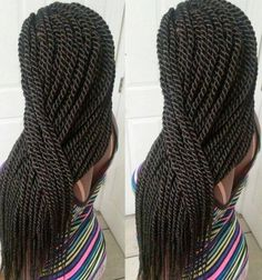 Senegalese Twists Beautiful Hair | Full Dose