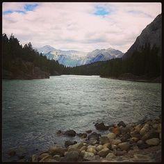 Banff, AB. Near the bow falls
