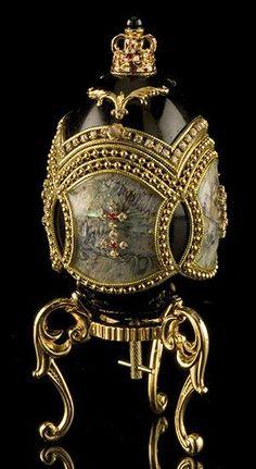Russian Imperial Fabergé Egg ✿⊱╮: