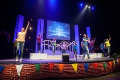 Get teens involved with children's church worship.