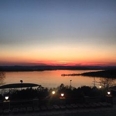 Gorgeous sunset photo from Chateau on the Lake overlooking Table Rock Lake. Thanks to our Instagram friend mighty_shemouse for sharing!