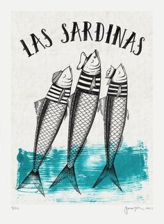Affiches - Famous Last Words Art And Illustration, Cactus Drawing, Sea Art, Fish Art, Grafik Design, Painting & Drawing, Art Drawings, Artsy, Canvas