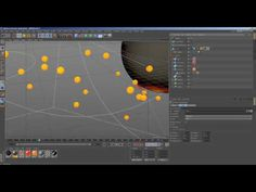 Xparticles collistion surface tutorial C4D